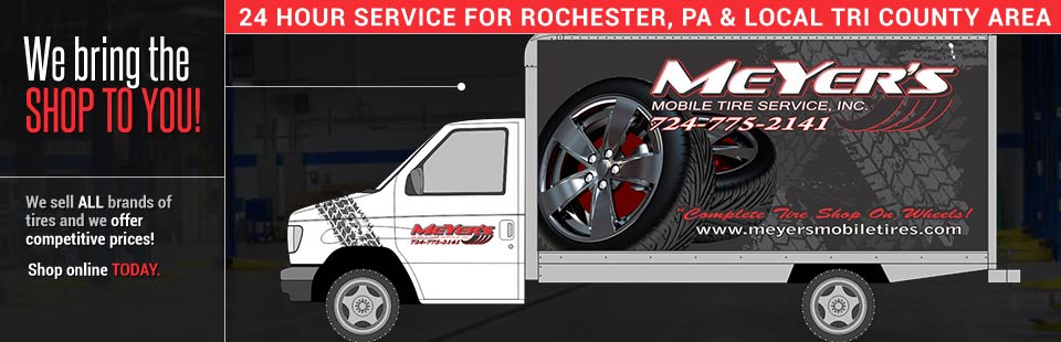 24 Hour Road Service Mobile Passenger And Commercial Tire Services