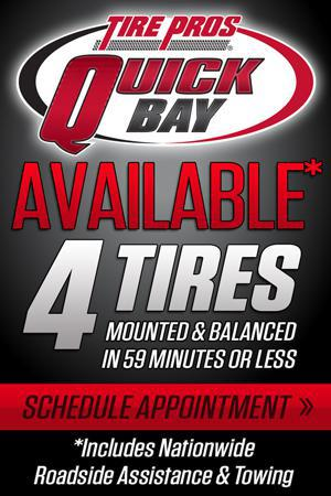 Tire Pros Quick Bay Location