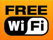 We have free WiFi!