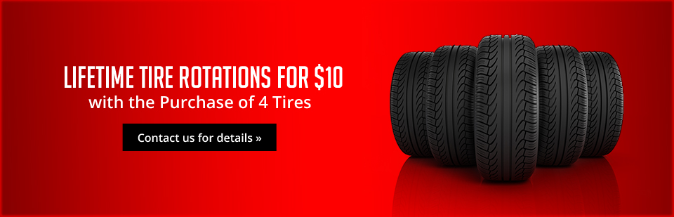 Lifetime Tire Rotations for $10