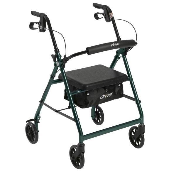 Drive walker rollator