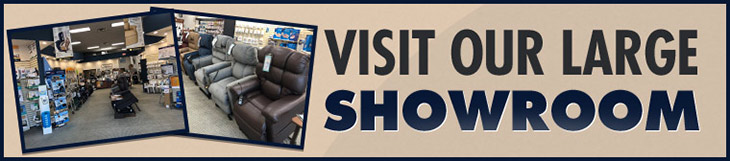 Visit our large showroom