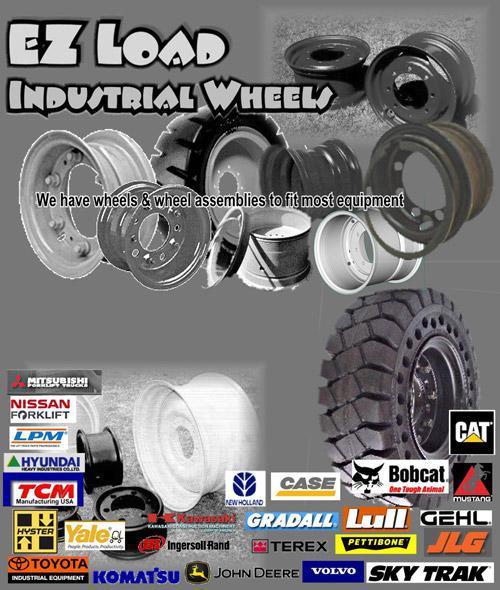 EZ Load Industrial Wheels Tires International Corp  Houston, TX (800