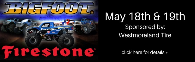 Bigfoot® Event. Sponsored by Westmoreland Tire
