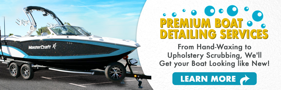 Boat Detailing Packages in Boynton Beach!