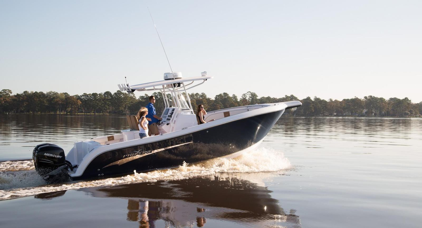 Premier ski fishing pontoon boat dealer in south for South florida fishing