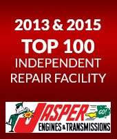 2013 & 2015 TOP 100 Independent Repair Facility.