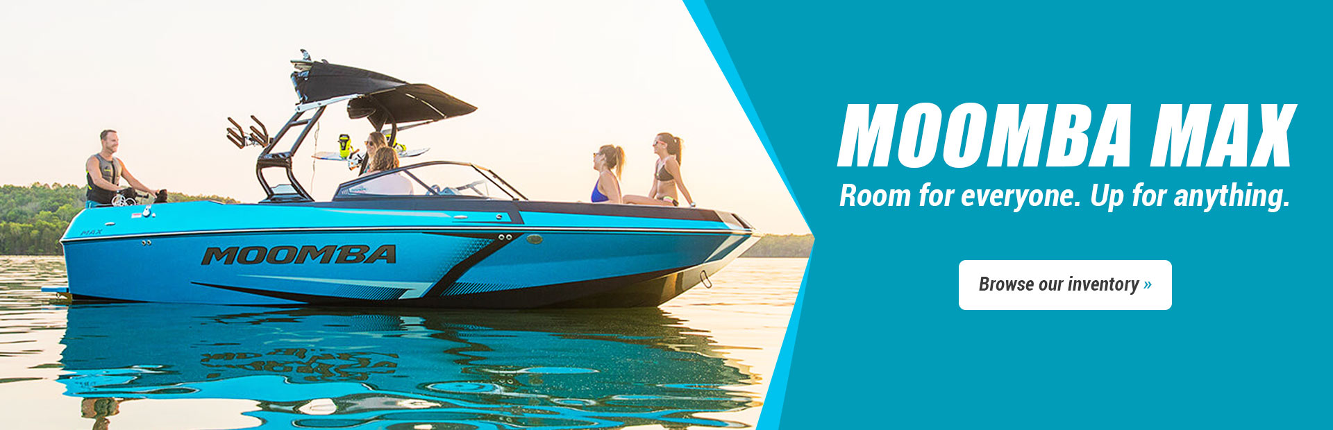 Moomba Max Boats: Click here to browse our inventory.