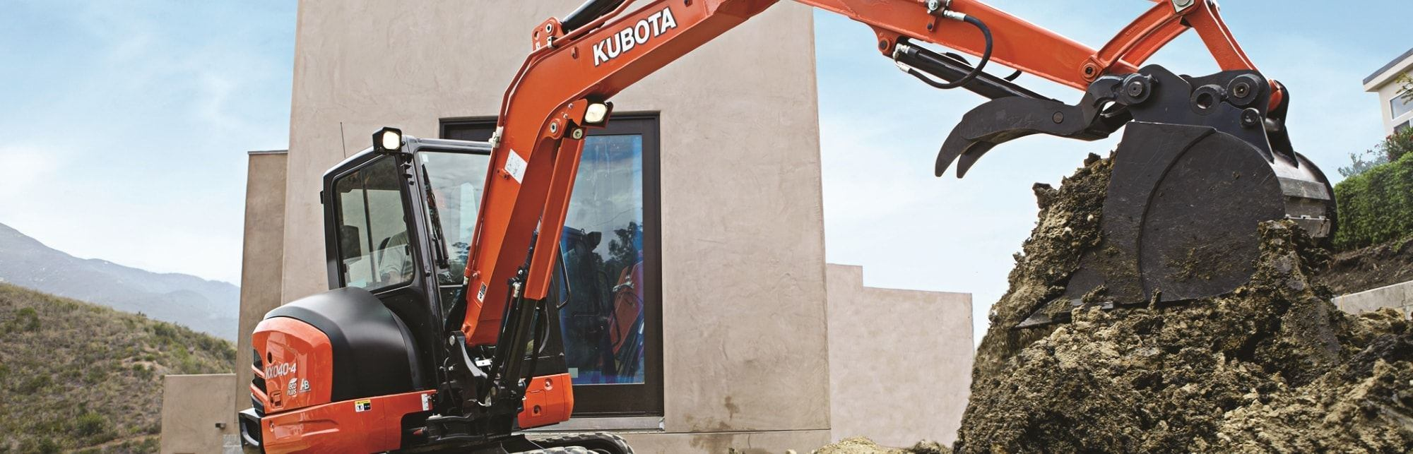 Great Plains Kubota - Rentals - Rent an excavator today!
