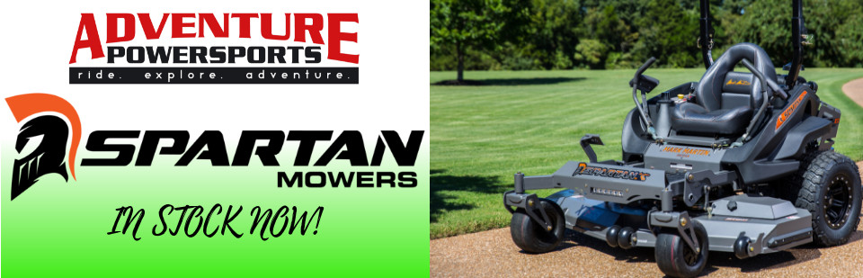 Spartan Mowers In Stock Now