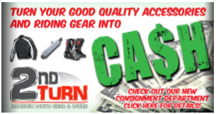 Turn Your Accessories and Riding Gear Into CASH