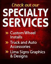 Check out our specialty services!