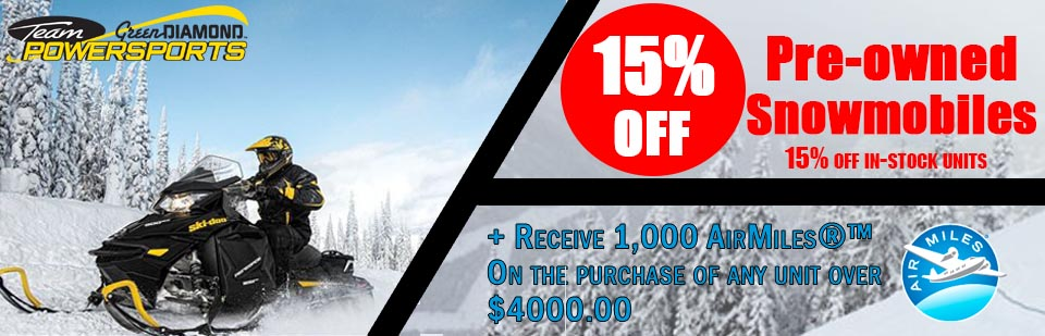 AirMiles Pre-Owned Snowmobiles