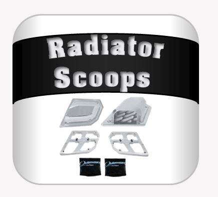 Radiator Scoops SS