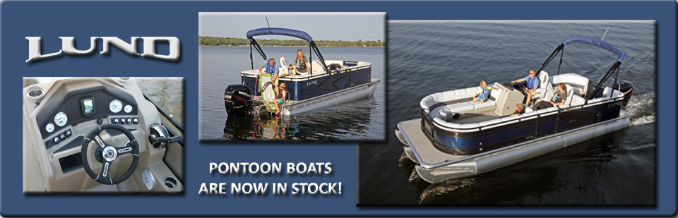 Lund Pontoon Boats