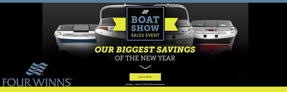 2019 Four Winns Boat Show Sales Event