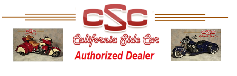 California Side Car Authorized Dealer