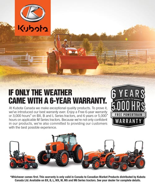 Kubota2016Warranty Flyer