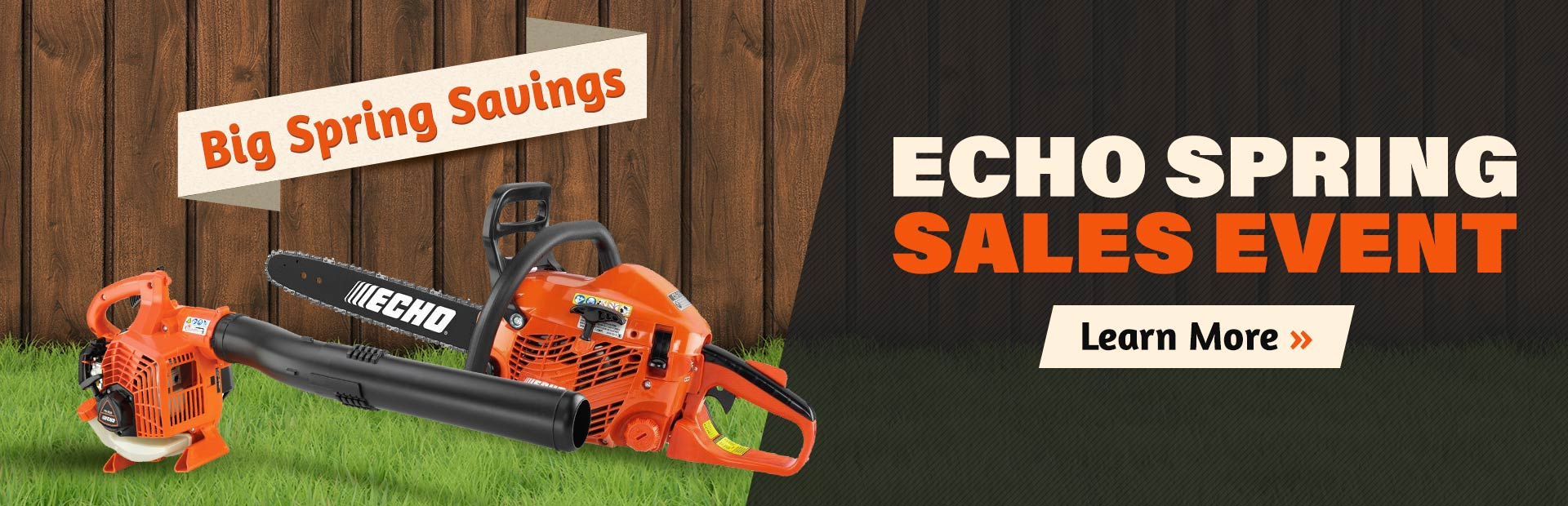ECHO Spring Sales Event: Click here to learn more.
