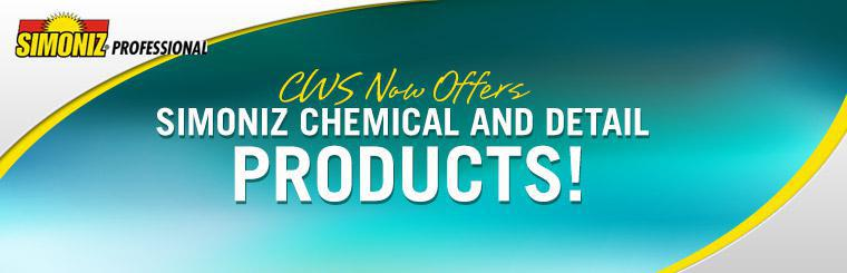 Carwash Solutions now offers Simoniz chemical and detail products!
