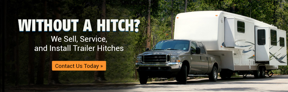 We sell, service, and install trailer hitches!