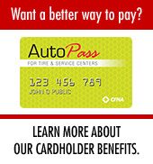AutoPass. Want a better way to pay? Learn more about our cardholder benefits.