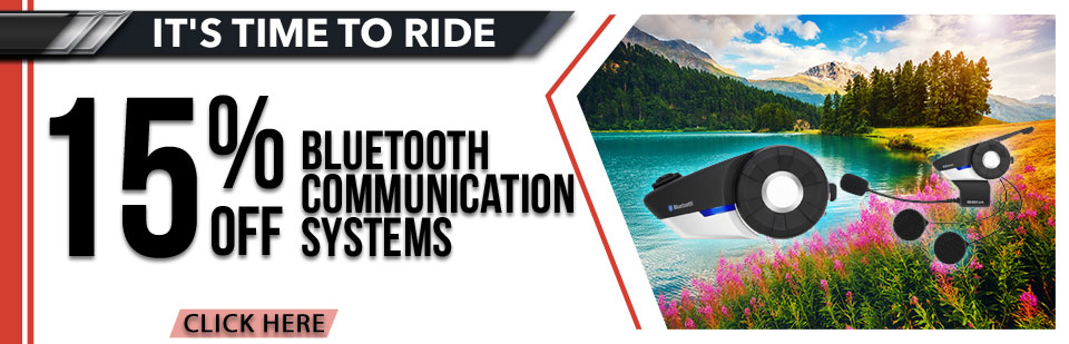 15% Off Bluetooth Communication Systems
