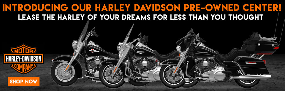 You can lease a Used Harley Davidson now at Capital Powersports
