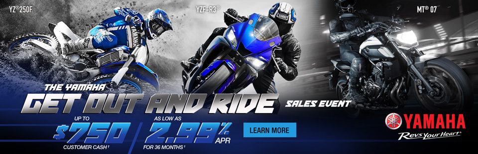 Great Offers on new Yamaha machines