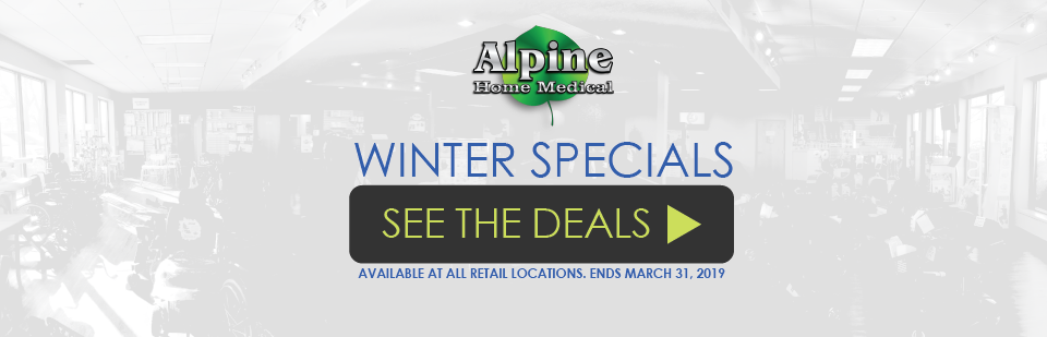 Check out or Winter Specials!