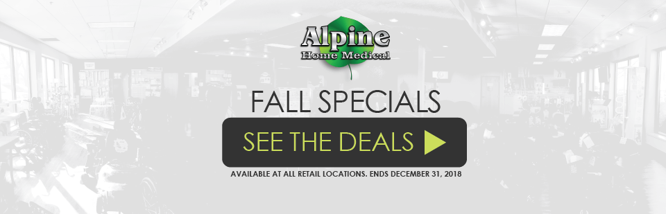 Check out or Fall Specials!