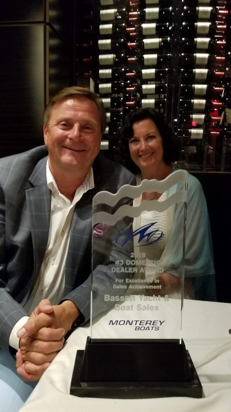Monterrey Boats Award