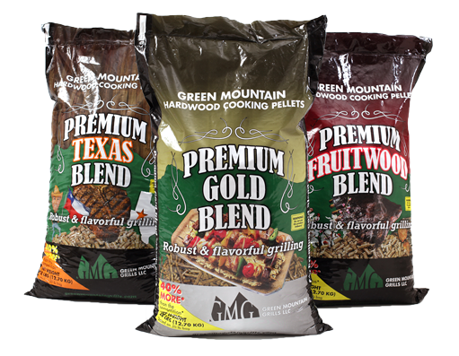 Green Mountain Grill Cooking pellets