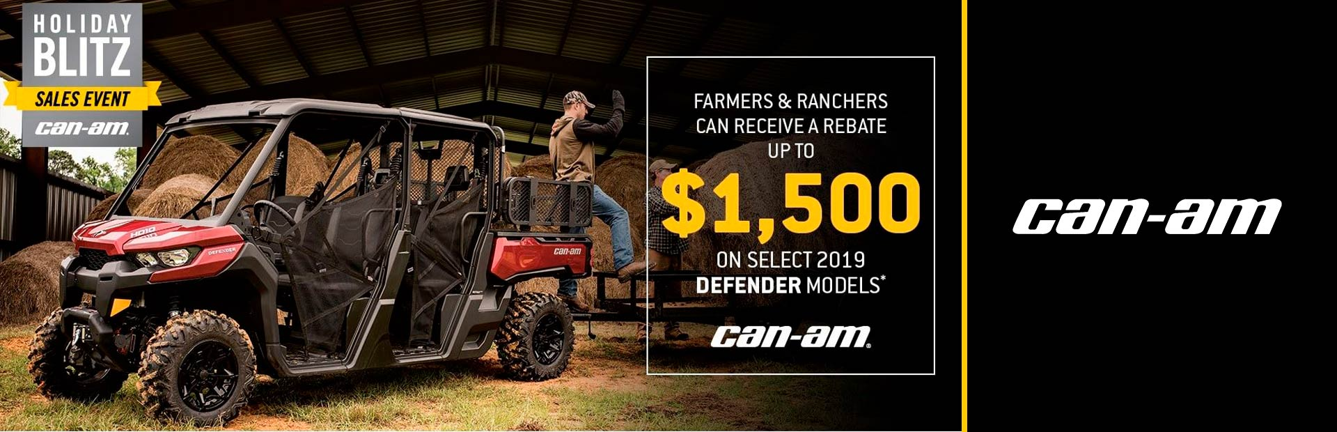 HOLIDAY BLITZ SALES EVENT - Farmers & Ranchers
