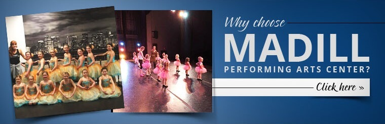 Why choose Madill Performing Arts Center? Click here for details.