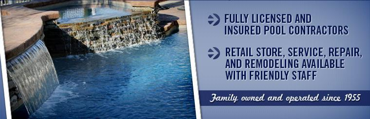W.W. Harper Pools & Spas has been family owned and operated since 1955. We are fully licensed and insured pool contractors with a retail store, service, repair, and remodeling available with friendly staff.