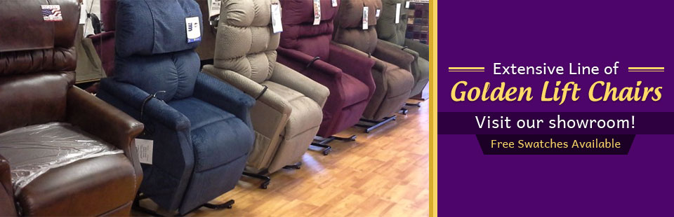 Extensive Line of Golden Technologies Lift Chairs: Click here to view the models.