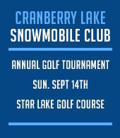 Cranberry Lake Snowmobile Club