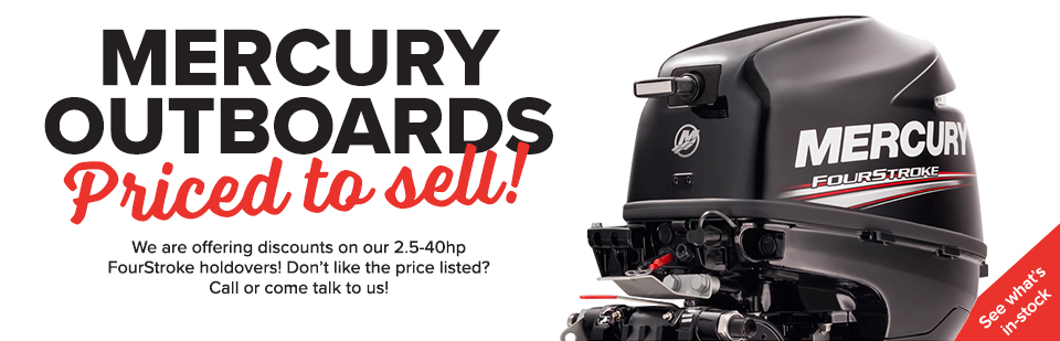 Mercury Outboards PRICED TO SELL!