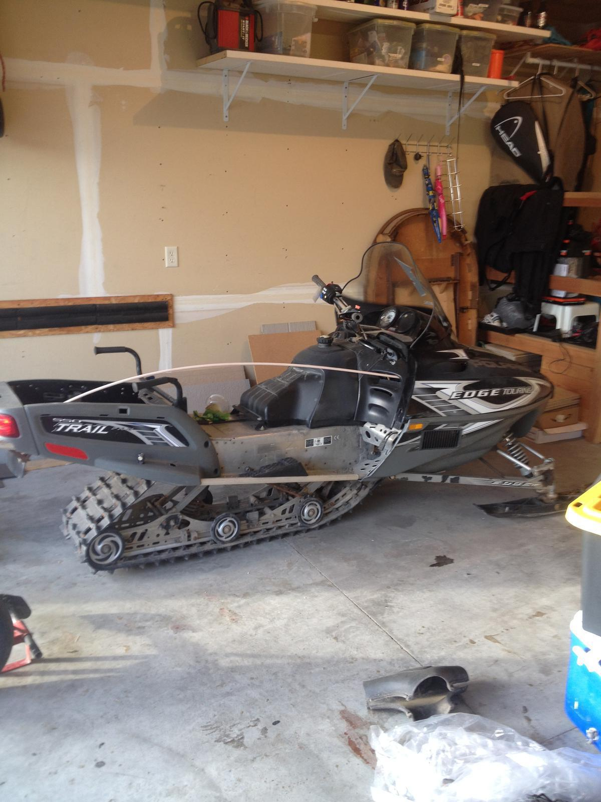 2006 Polaris Used Parts Snowmobile trail touring for sale in