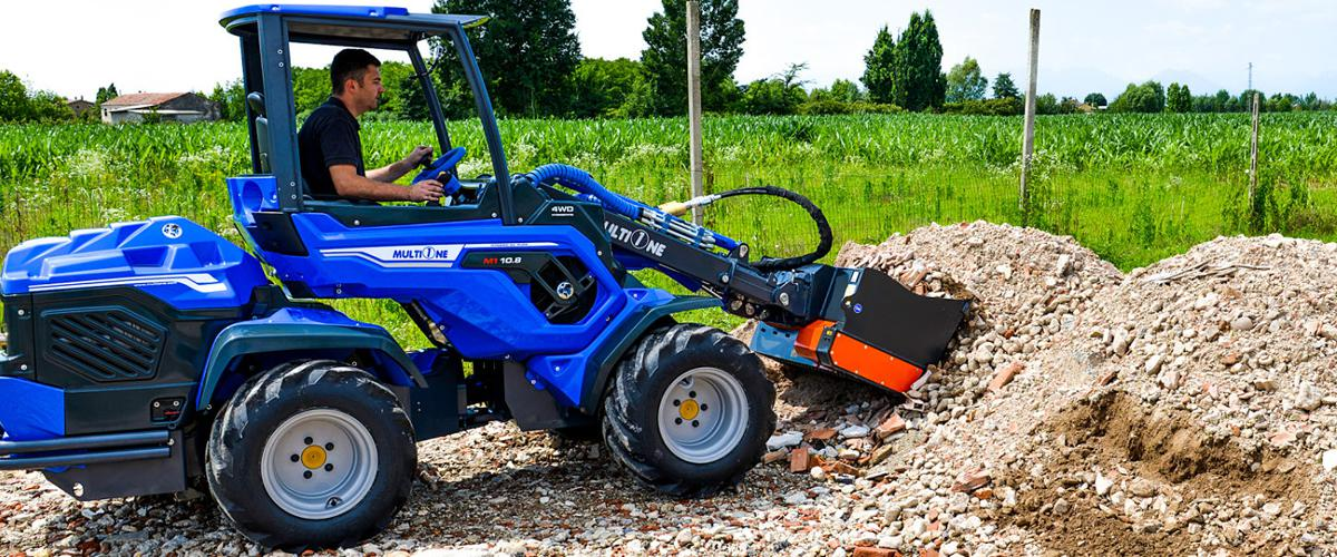MultiOne Articulated Mini Loaders And Attachments Martin's