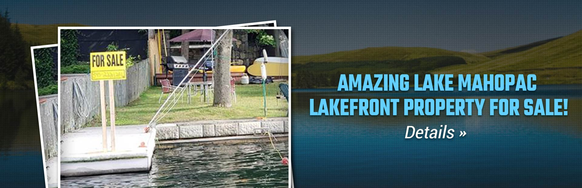 Amazing Lake Mahopac Lakefront Property for Sale: Click here for details.