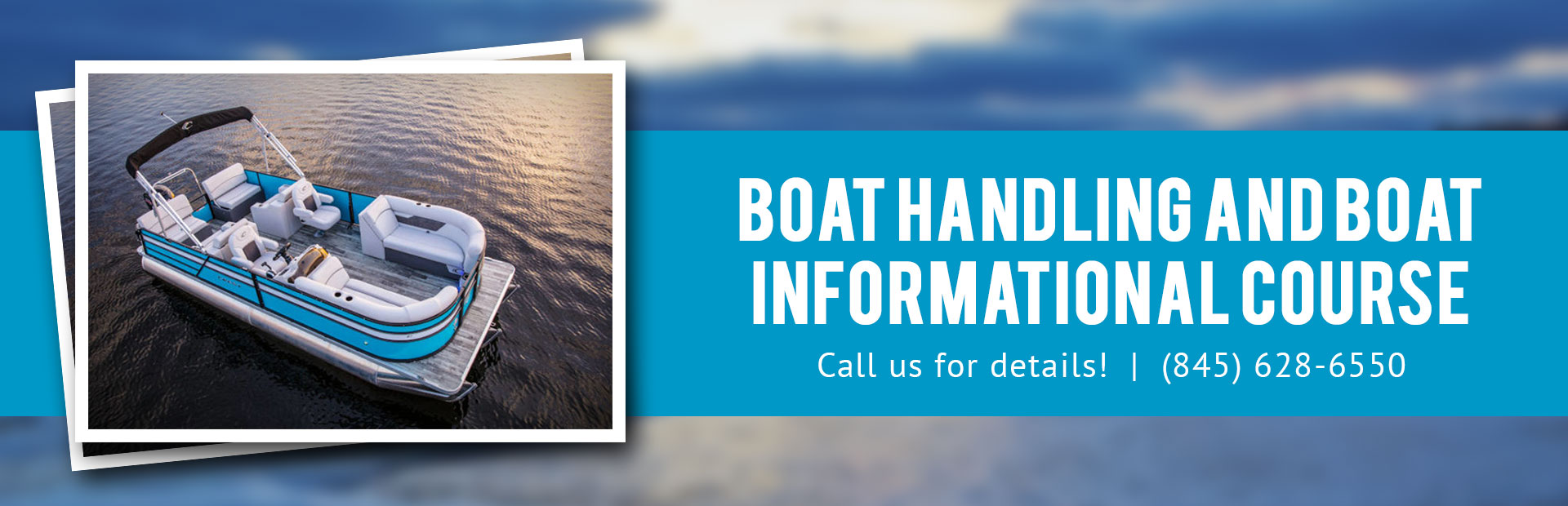 Boat handling and boat informational course