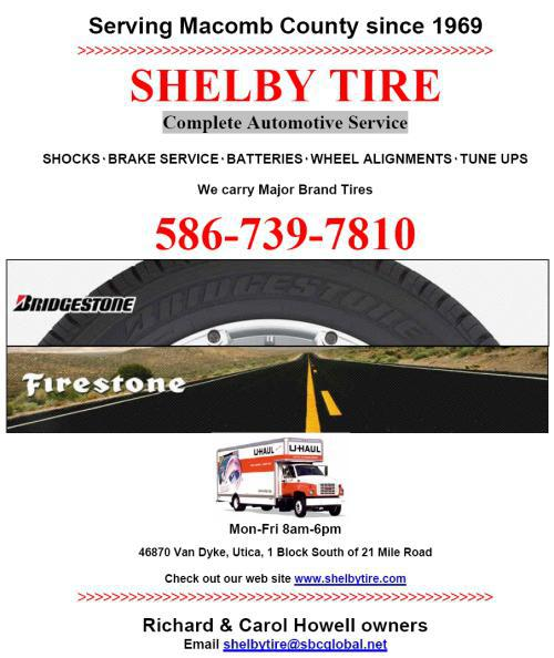 Shelby Tire Ad