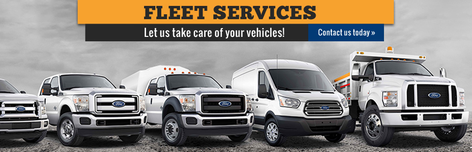 Fleet Services: Let us take care of your vehicles! Contact us for details.