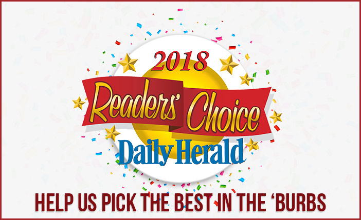 2018 Readers Choice Daily Herald. Help us pick the best in the 'burbs