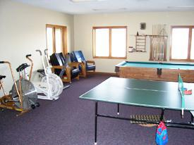 Exercise and Game Room