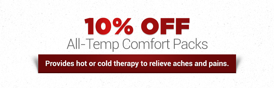 10% Off All-Temp Comfort Packs: Click here to print the coupon.