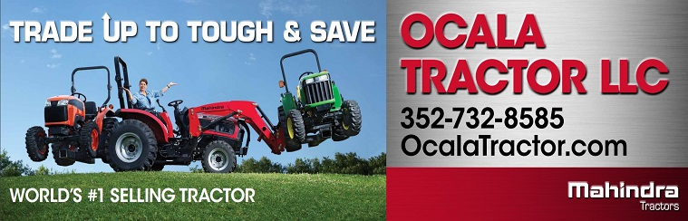 We are lifting the competition. Ocala Tractor