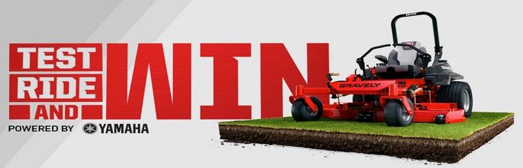 Test ride and win with Gravely